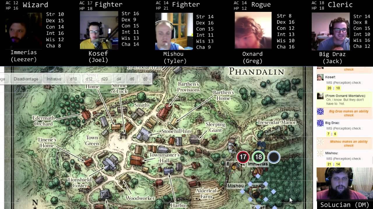 Lost Mine of Phandelver Starter Box Adventure Part 4 (D&D Next, 5e)