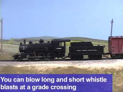 Exclusive model train video: Bachmann Trains HO scale Mogul 2-6-0 steam locomotive