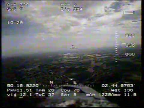 FPV flight Alt 800 m (2624ft)