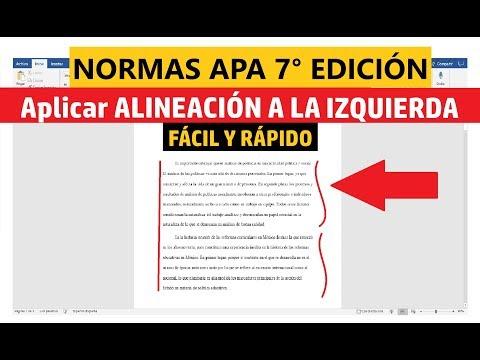 cómo-aplicar-alineaciÓn-a-la-izquierda-fÁcilmente-en-word-según-normas-apa-sÉptima-ediciÓn-(7ma.)