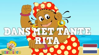 Kinderliedjes | Tekenfilm | DANS MET TANTE RITA | Minidisco | DD Company