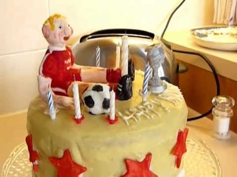aberdeen football fc birthday cake youtube on birthday cakes to order in aberdeen