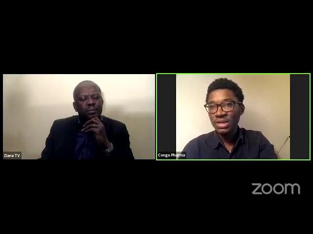 ZIANA TV   La diaspora qui ose  Avec Franck Mongo, de Congo Pharma