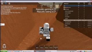 Roblox-ARF armour on Geonosis