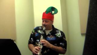 A Caroling We Go -  Piano and Clarinet