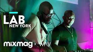 BLACK COFFEE and THEMBA in The Lab NYC  (DJ set)