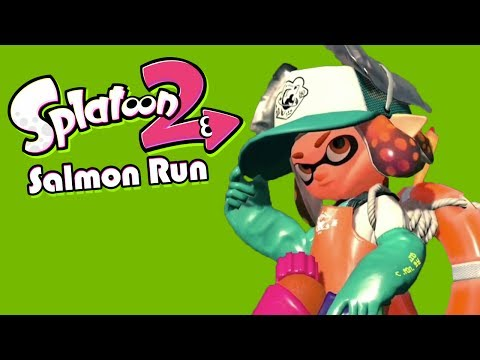 My First Salmon Run! - Splatoon 2