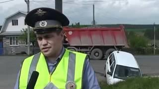 ДТП - г.Реж ул. Октябрьская - ул. Колхозная.