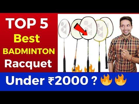TOP 5 BEST BADMINTON RACQUETS UNDER ₹2000 | | India 2020 | Badminton Racket