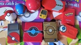 Collection pokedex + gadgets électroniques !!!!!