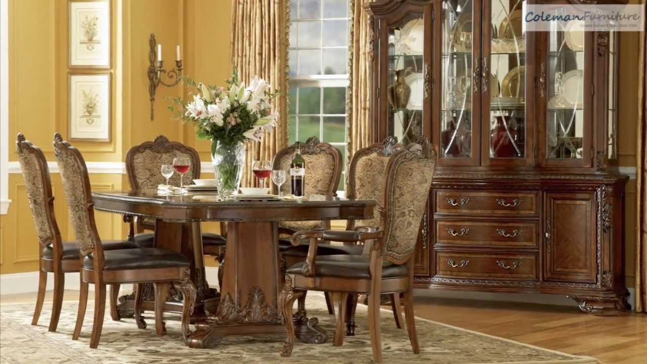 Old World Double Pedestal Dining Room Collection From ART – Art Dining Room Furniture