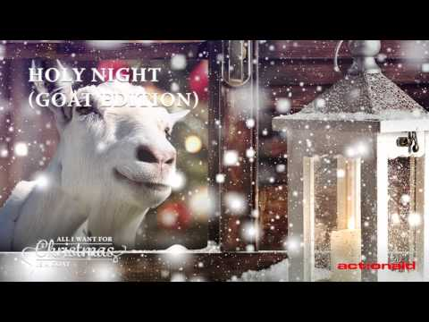 Goats singing Christmas carols will put you in a festive mood