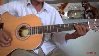 Học đánh guitar nhạc vàng (bolero)  - tông Dm