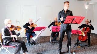 Aux Champs Elysées [LIVE] with string quartet