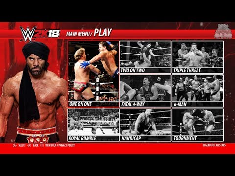 WWE 2K18 - ALL MATCH TYPES & GAME MODES GAMEPLAY | Concept/Notion | PS4/XBOX ONE