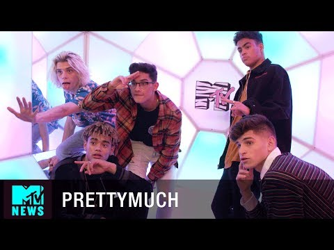 A Day In The Life w/ PRETTYMUCH | MTV News