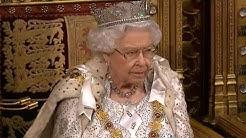 Wiedereröffnung des britischen Parlaments durch Queen Elisabeth II.