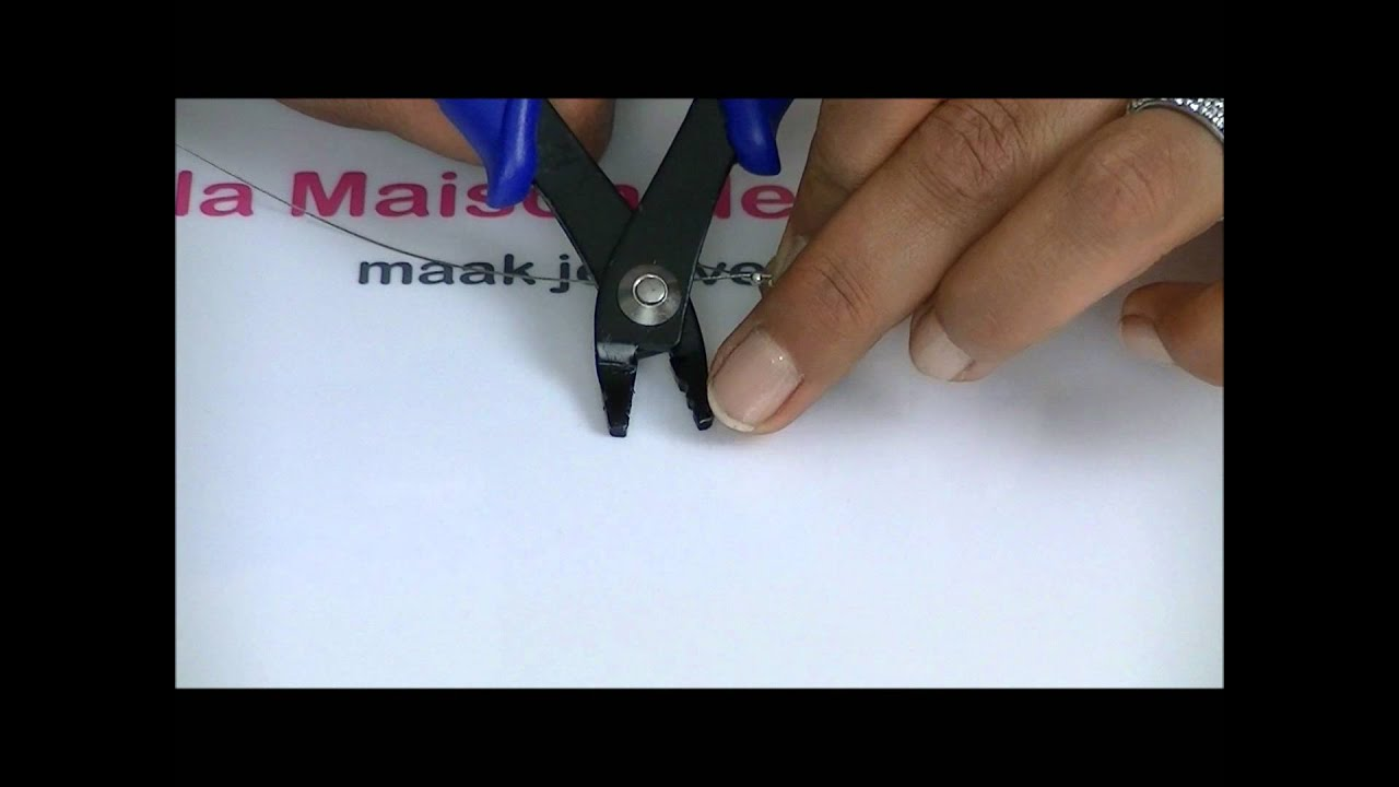 Meer uitleg over een sluiting slotje aan een sieraad youtube - Maak een hoofdbord aan ...