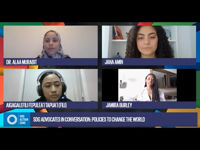 SDG Advocates in Conversation: Policies to change the world