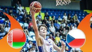 LIVE Belarus v Czech Republic FIBA U16 European Championship Division B 2018