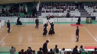 65th All Japan Kendo Championship 23   Round 1, Matsuzaki vs Noda