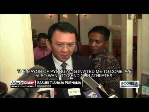 Jakarta Governor Meets North Korean Ambassador