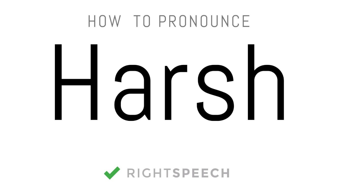 harsh how to pronounce harsh indian boy name youtube