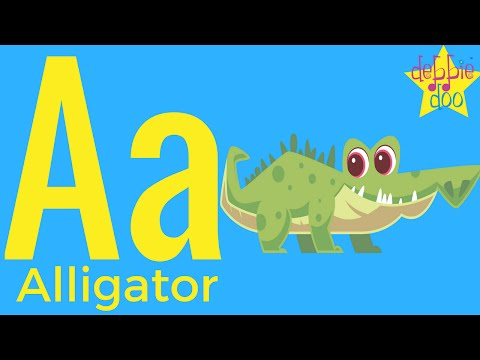 The Letter A - ABC Alphabet Song Series