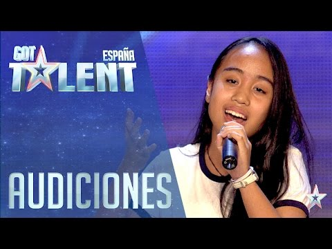Golden Buzzer Act! An angel has arrived | Auditions 4 | Spain's Got Talent 2016