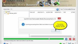 SysInfoTools Removable Media Data Recovery