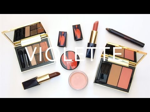 Estée Lauder x Violette   Poppy Sauvage Collection Review