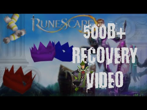 500b+ Runescape Account Recovery Video @Plagued