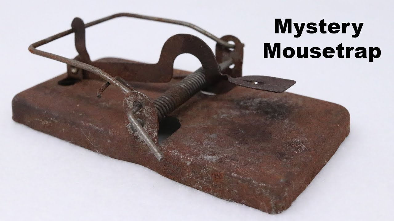 a-mystery-mousetrap-testing-out-an-old-rusty-metal-mousetrap-mousetrap-monday