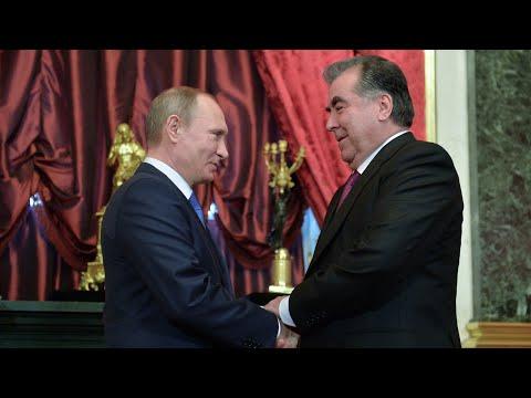 Путин и Рахмон провели переговоры. Соболезнования Казахстану и ситуация с коронавирусом