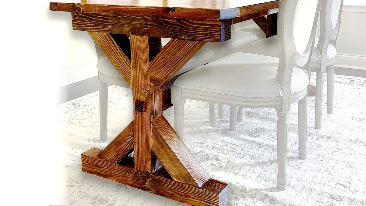 6 Mistakes Not To Make When Building A Farmhouse Table Youtube