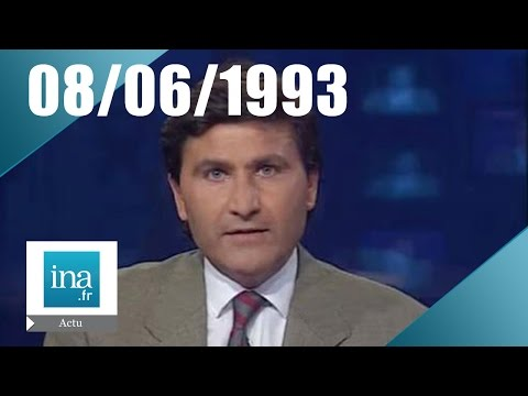 20h France 2 du 8 juin 1993 - Mort de René Bousquet | Archive INA