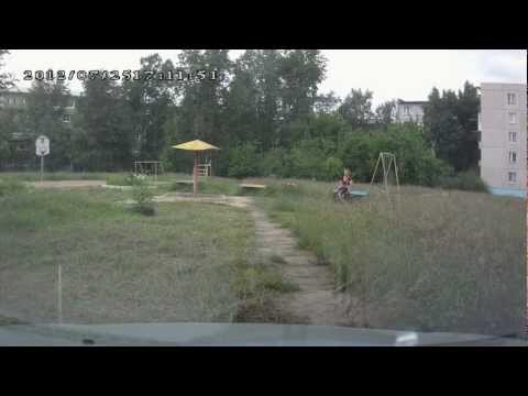 On the roads of Angarsk city