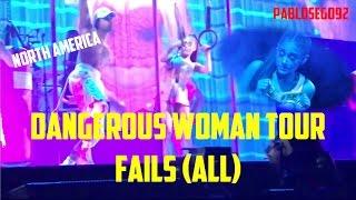 Dangerous Woman Tour Fails All First Leg Ariana Grande