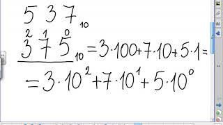 Перевод чисел позиционных систем счисления