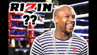 Floyd Mayweather Signs to Rizin Kickboxing
