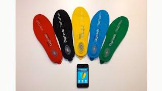 Digitsole -  первые интерактивные стельки с подогревом(Французские изобретатели, создали первые в мире «умные» стельки, ведь они могут корректировать температур..., 2014-09-18T16:42:58.000Z)