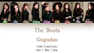 Gugudan (구구단) - The Boots Color Coded Lyric Han|Rom|Eng by NEStar 088