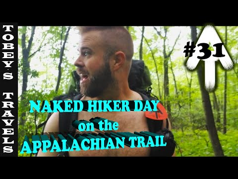 Appalachian Trail Thru Hike: (EP 031) Naked Hiker Day! (It was cold, so don't judge)