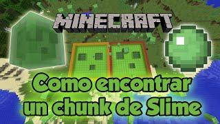 Como encontrar un chunk de slimes [1.11/1.12] - Tutorial Minecraft