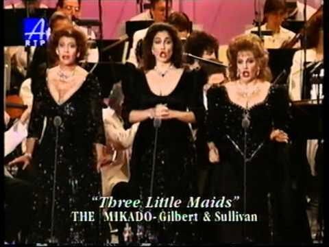 Kathleen Cassello, Kallen Esperian & Cynthia Lawrens (3 Sopranos), II part.