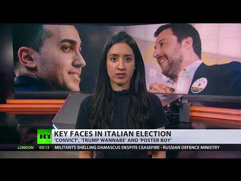 Tensions rise as Italy braces for general election this weekend