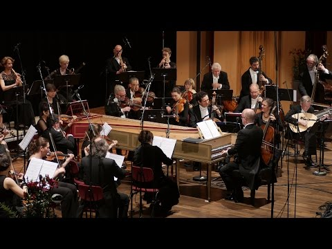 Handel Water Music: Hornpipe; FestspielOrchester Göttingen, Laurence Cummings, director 4K