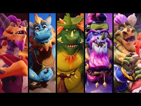 Spyro Reignited Trilogy - All 80 Dragons