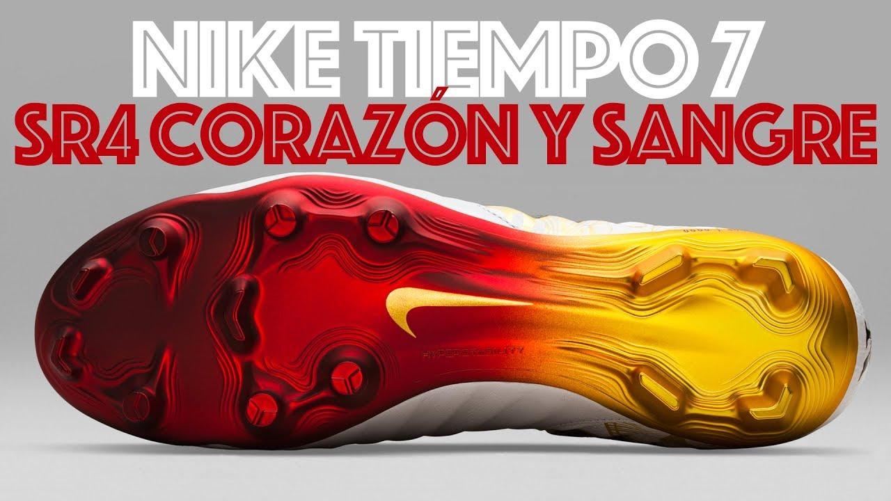 Nike Tiempo SR4 Corazón y Sangre