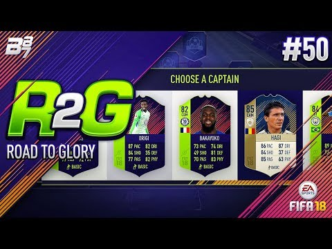 ROAD TO GLORY! DRAFT FOR PATH TO GLORIES! #50 | FIFA 18 ULTIMATE TEAM